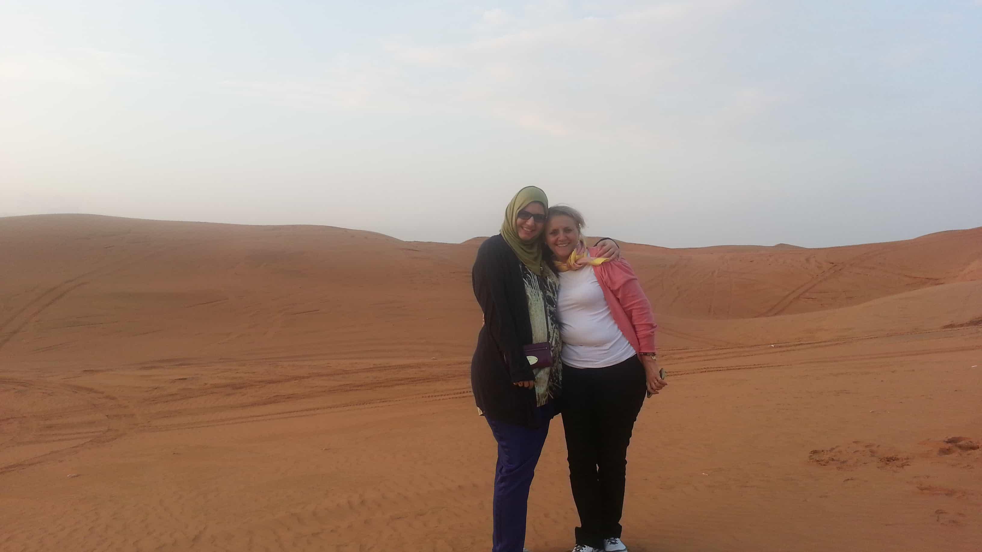 Muslim travel girl dubai