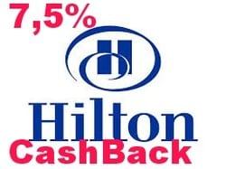 7,5%, Best Hilton Cashback deal I have ever seen!