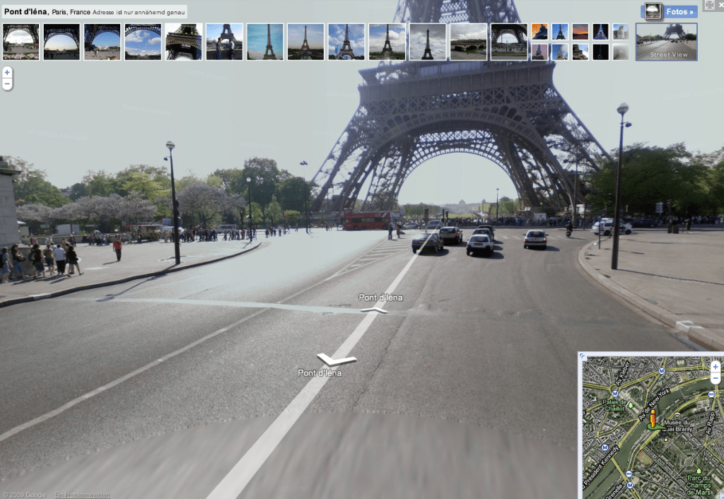 google street view Muslim travel girl