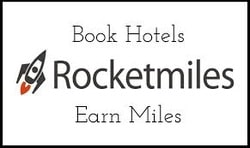 Rocketmiles 3,000 Bonus miles plus extra on some hotels up to 8,000 miles for 1 stay