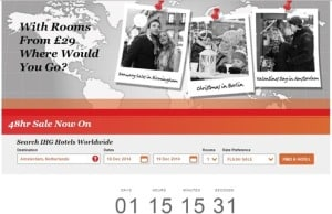 """New IHG 48hr Sale-Great for Completing your """"Into the Night"""" offers"""