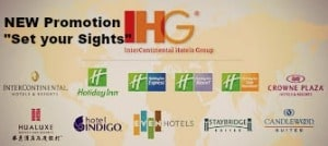 """New promotion by IHG """"Set your Sights"""""""