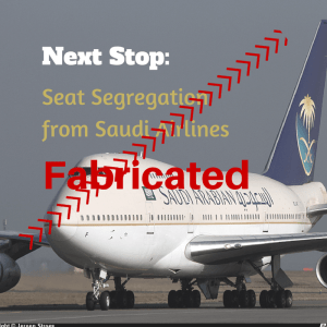 The Muslim Travel Girl's perspective on Saudi Airlines gender seating segregation