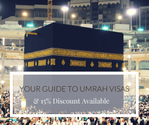 Your Guide to Umrah Visas & discount available