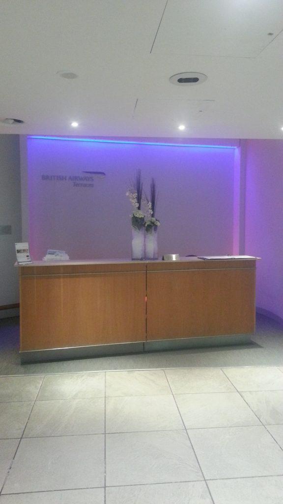 British Airways Manchester airport lounge MuslimTravelGirl