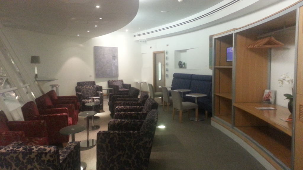 British Airways Manchester Airport lounge