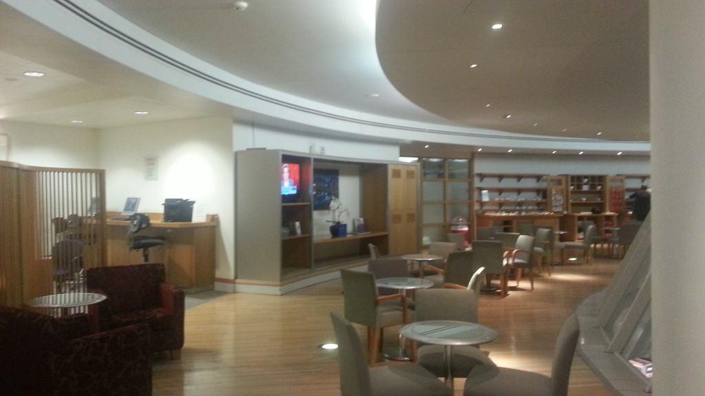 British Airways lounge Manchester Airport