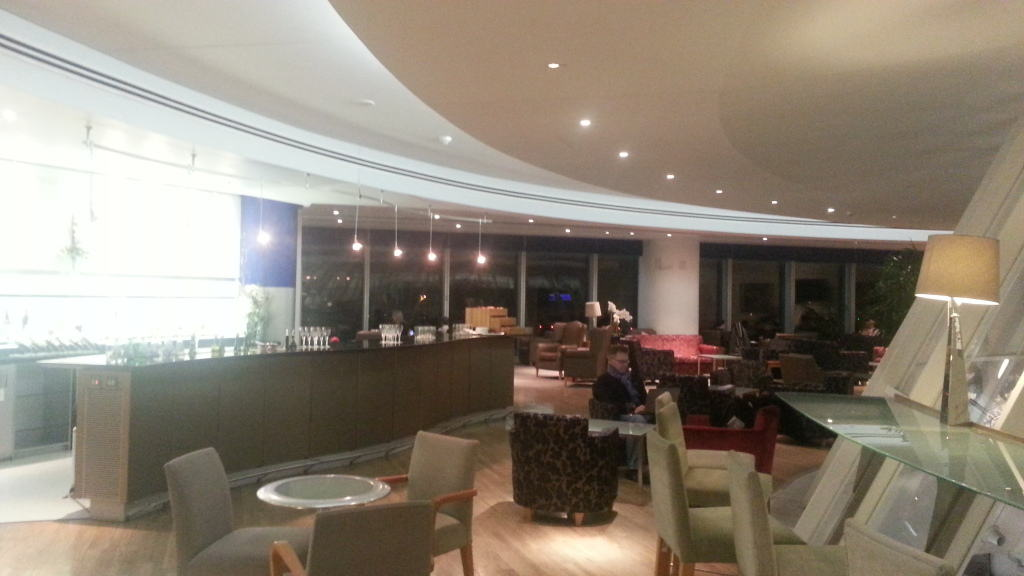 British Airways lounge Manchester Airport