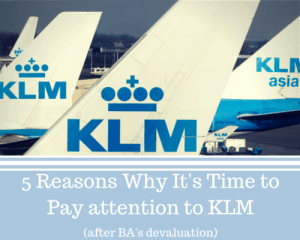 5 Reasons Why It's Time to Pay Attention to KLM