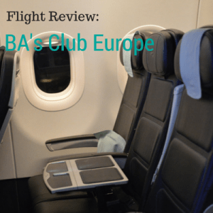 British Airways Club Europe