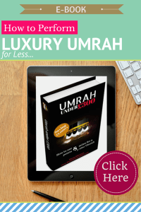"My new book ""Umrah under £300"" is out"