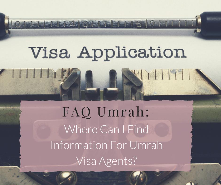 Where can I find information about Umrah Visa Agents