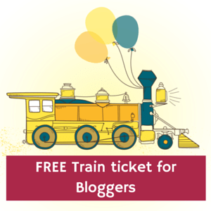 Free train ticket if are you a Travel Blogger & Going to Asia