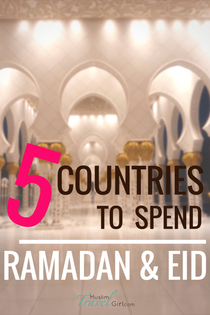 Pinterest 5 countries to spend Ramadan & Eid