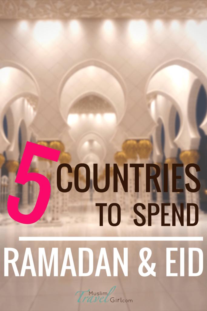 Pinterest 5 countries to spend Ramadan & Eid
