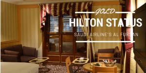 hilton gold status offer
