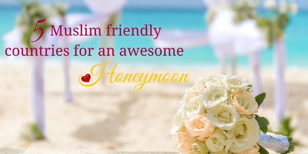 muslim friendly honeymoons