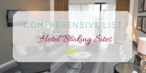 Comprehensive List of Hotel Booking Sites