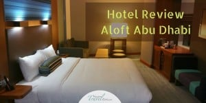 Review Aloft Hotel Abu Dhabi