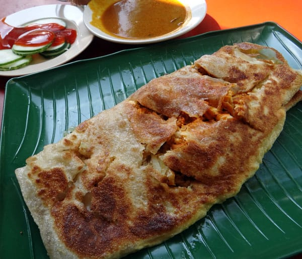 Zam Zam - Chicken Murtabak Singapore Halal Indian Food HHWT