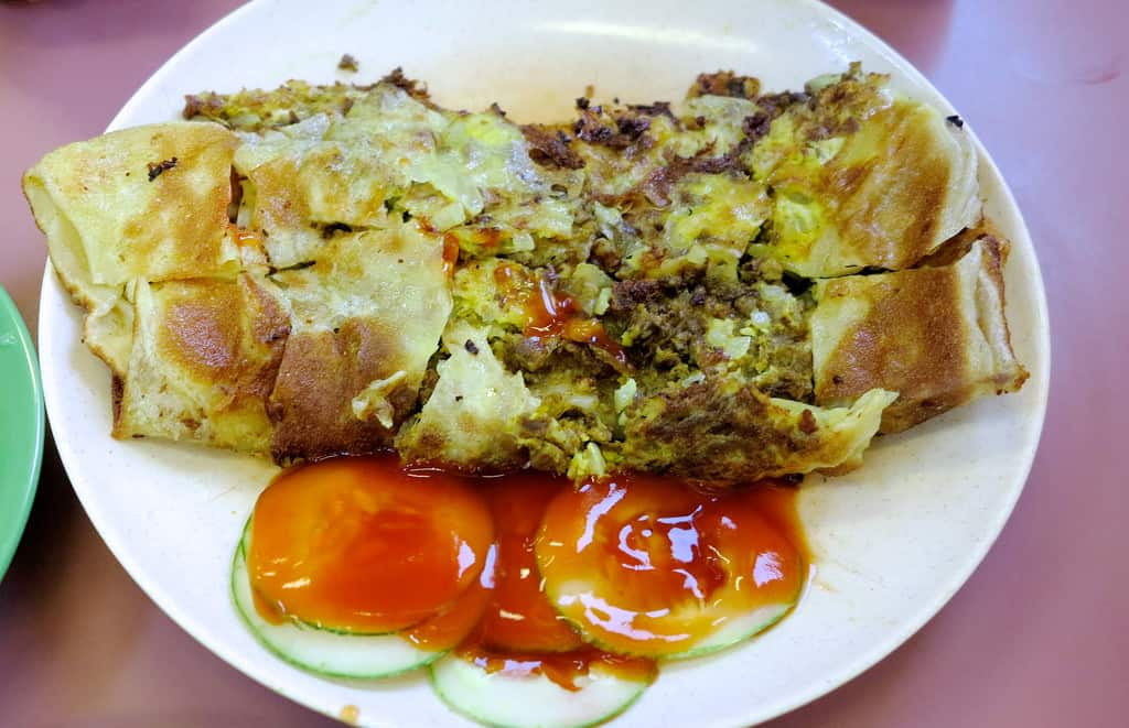 Zam Zam Mutton Murtabak Singapore Halal Indian Food HHWT