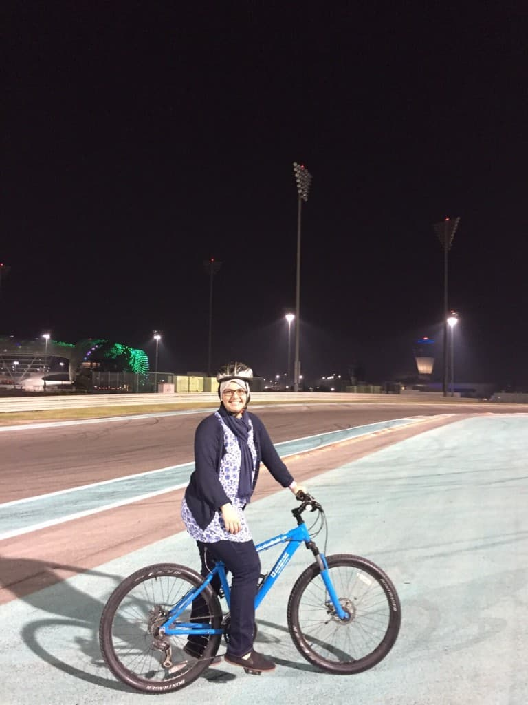 Muslim friendly Activity Abu dhabi yas circuit