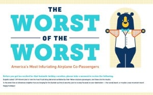 The worst passengers to travel with! Are you guilty?