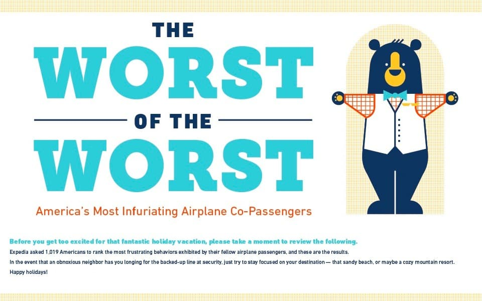 THE WORST PASSENGERS TO TRAVEL WITH!