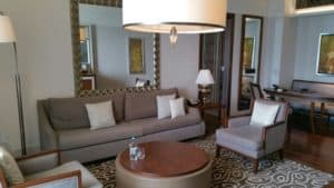 Waldorf Astoria Dubai: The best Suite I ever stayed in