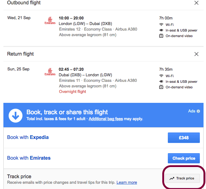 Here is Why Using Google Flight Track Can Save You Serious Money