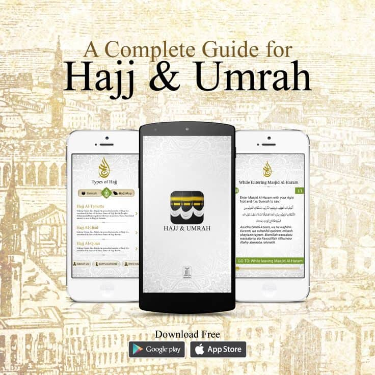 5 Smartphone Apps to Help You Make the Most of Your Umrah