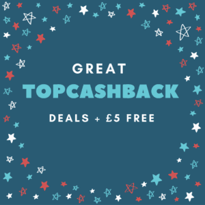 How I save £400 a year with Topcashback plus £5 free when you sign up & more
