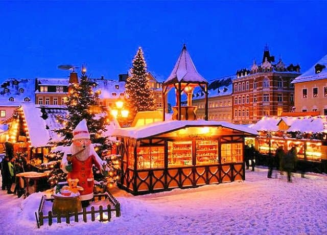 The Best Places To Spend Christmas, uk