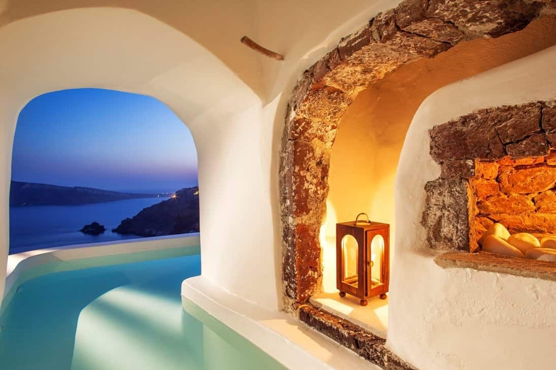 7 Stunning Hotels In Santorini With Private Pools And Some