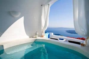 7 Stunning Hotels in Santorini with Private Pools – And some Are Muslim Friendly Too