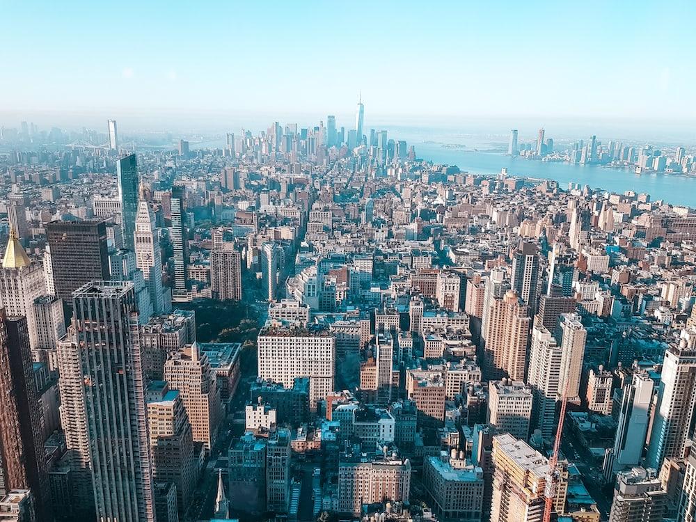 view of empire state building new york muslim travelgirl