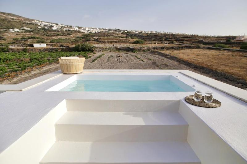 Muslim friendly villa in Santorini
