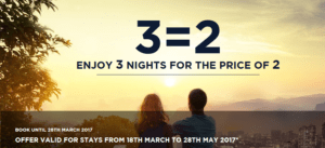 Accorhotels Promotion 3 for 2 Around the World - Cheaper option for Umrah too