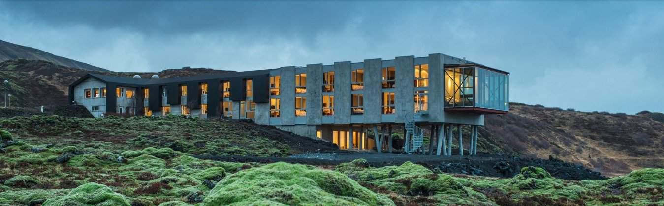 Unique hotel experiences in Iceland