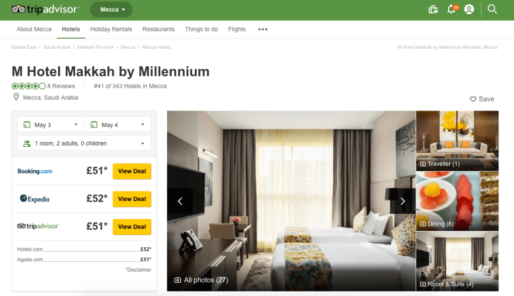 Three New Budget Hotels In Makkah & Medina that Won't Break the Bank- Ibis Styles, Pullman, M by Millennium