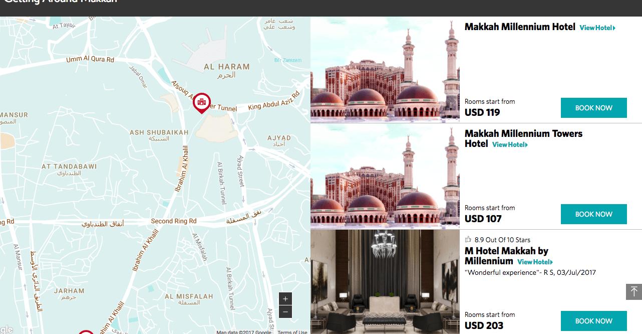 No More Hilton Makkah Hotel & Towers, Welcome Makkah Millennium Hotel