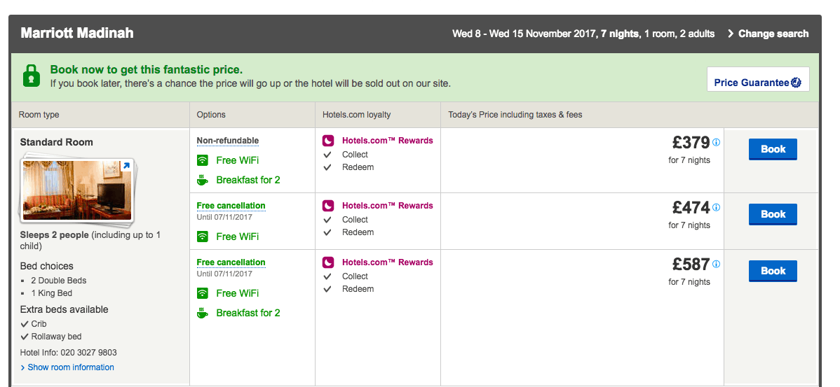 Plan Your Own Amazing 2-week November Umrah from as little as £760 per person