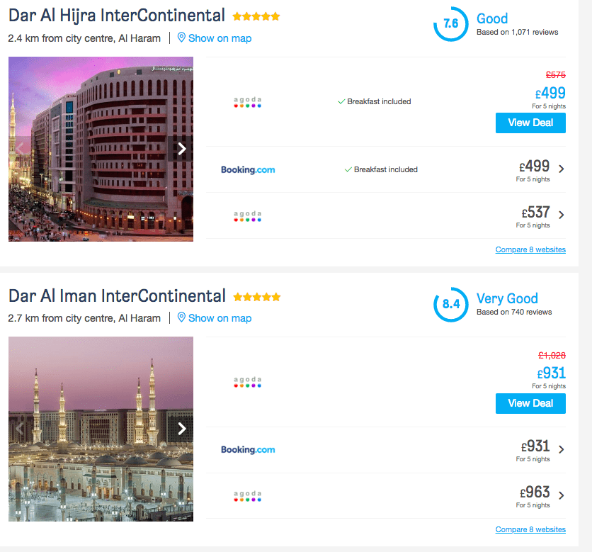 DIY Umrah Packages Step By Step from £800 per person in Ramadan