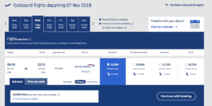 Avios Redemption up to 40% discount on points via Avios.com