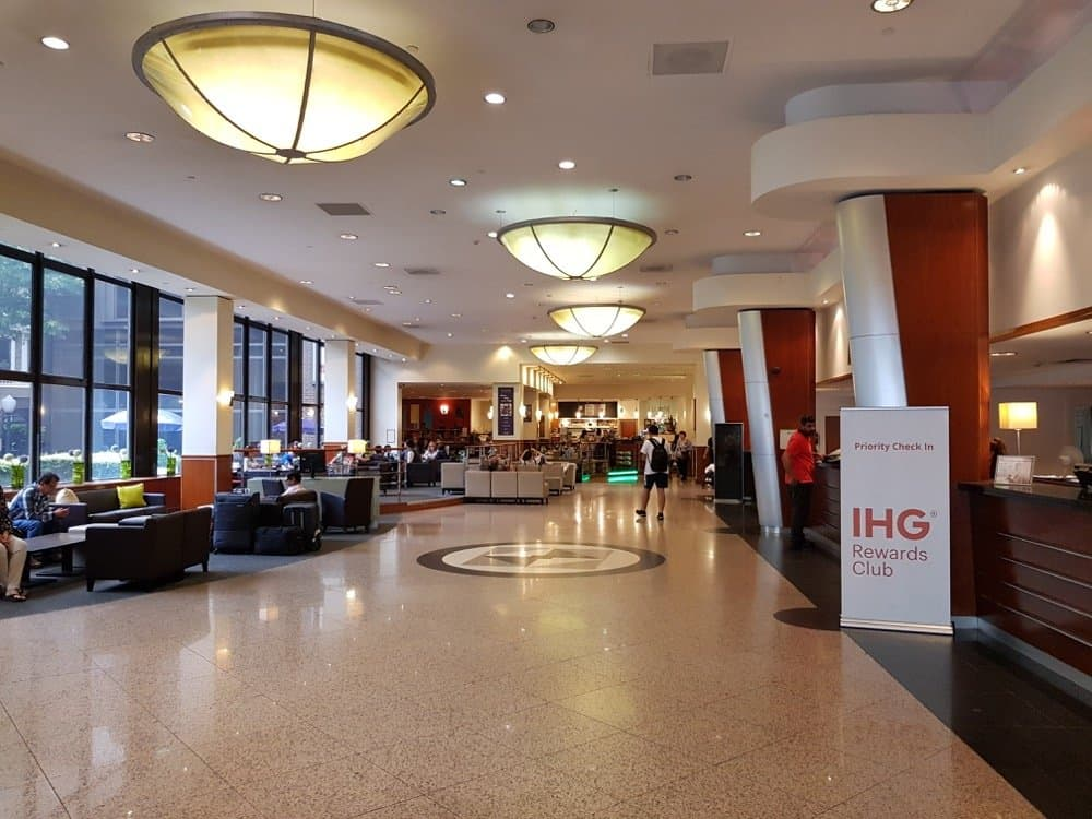 Holiday inn Kensington Forum Hotel Review London