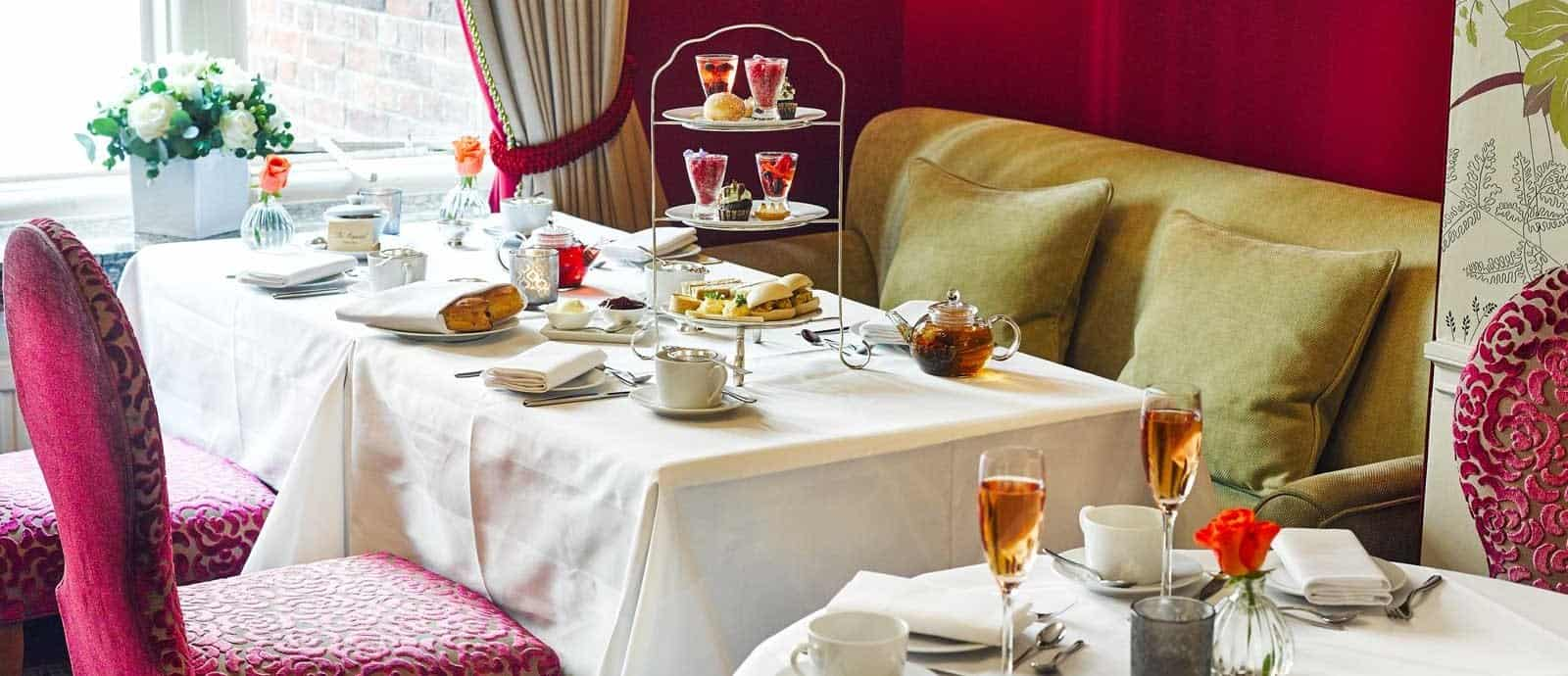 Amazing afternoon tea halal options in LOndon for muslims