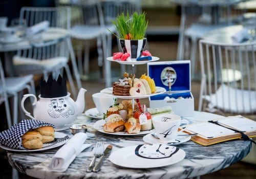 Halal afternoon tea choices in London