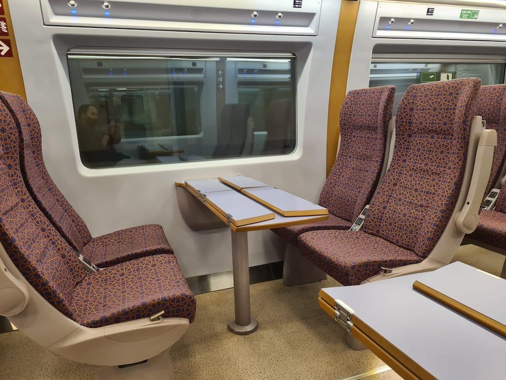 Haramain Train from Makkah to Medinah for Umrah