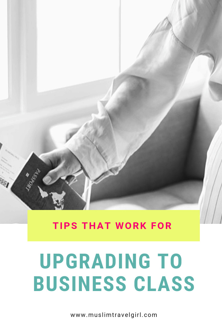 Upgrade to business class tips that work