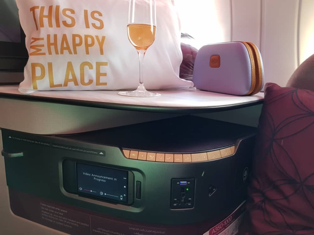 Qatar Qsuites review good for hijabi travellers?
